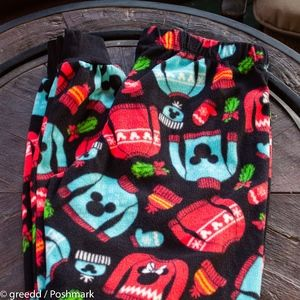 Mickey Mouse Holiday PJ Pants